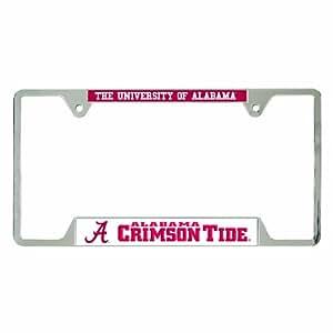 NCAA Alabama Crimson Tide Metal License Plate Frame