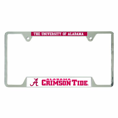 WinCraft NCAA Alabama Crimson Tide License Plate Frames, 23335010