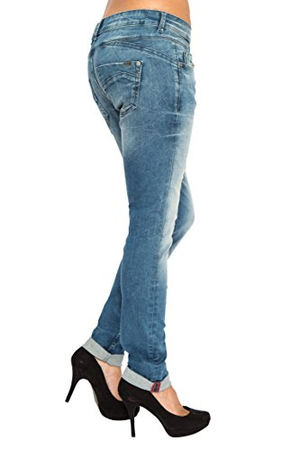 Jeans bleu Paradise shaddow Slim in Lost Femme Ezq1gg