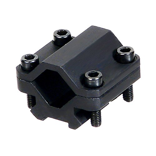 Single Universal Pistol (UTG Universal Single-rail Rifle Barrel Mount, 2 Slots)