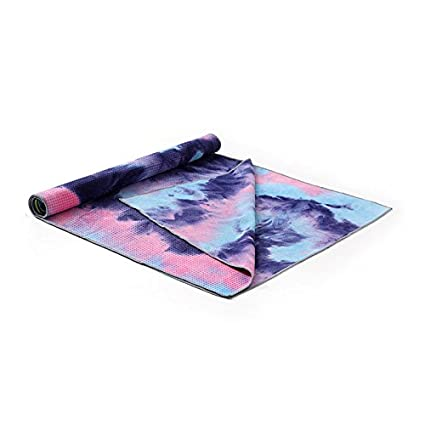 Amazon.com: Soft Yoga Towel Tie-dye Printing,Non-slip ...