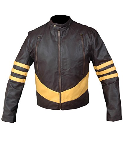 Cyclops X Men Costumes Kids (F&H Boy's X-Men Origins Wolverine Jacket XL Brown)