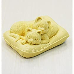 Longzang Cat mould S298 Craft Art Silicone Soap mold Craft Molds DIY Handmade soap molds