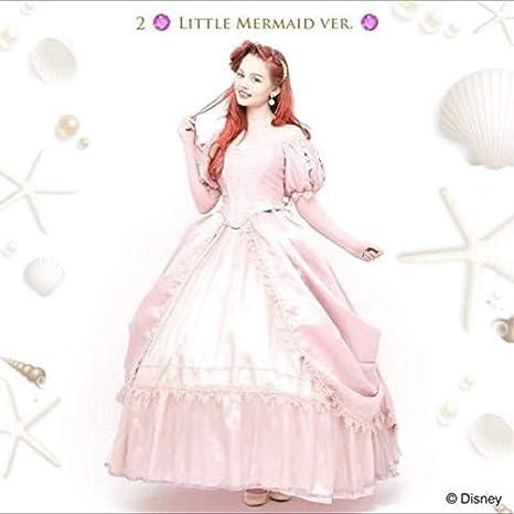 Amazon Co Jp Secret Honey Disney Costume Little Mermaid Ariel Pink Dress Cosplay Costume Fancy Dress Hobby