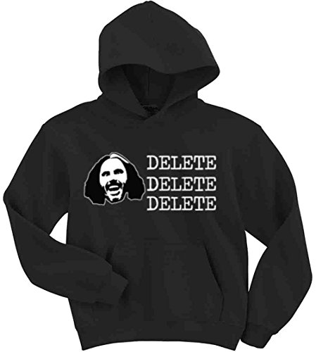 The Silo BLACK Matt Hardy WWE ''DELETE'' Hooded Sweatshirt YOUTH by The Silo