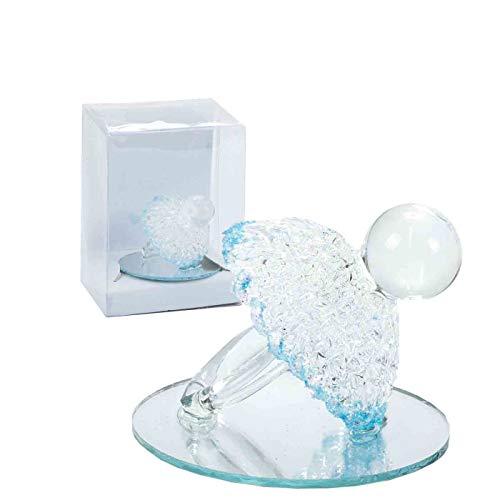 Lote de 12 Figuras Decorativas de Cristal