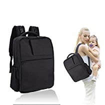 Joly Joy Baby Diaper Bag Backpack Multi-function Waterproof Travel Backpack Nappy Bag for Baby Care, Large Capacity, Stylish and Durable