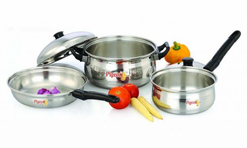 Pigeon Cookware Set, 5 Pieces