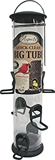 product image for Aspects 421 Spruce Quick Clean Big Tube Feeder, Large, Green