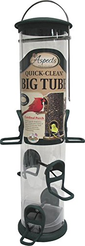 Aspects 421 Spruce Quick Clean Big Tube Feeder, Large