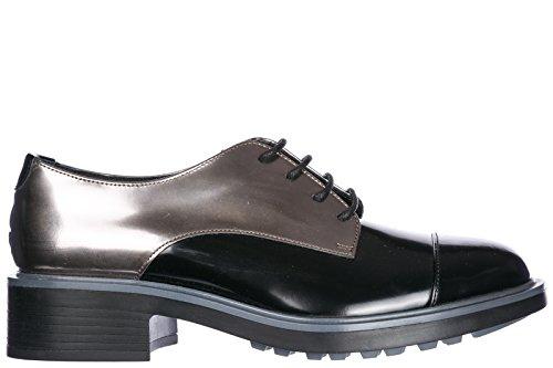 Bureau Chaussures Hogan Noir Femmes De Bureau fjKqD