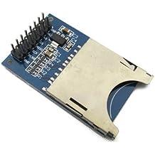 GUWANJI 1Pcs SD Card Module Slot Socket Jack Reader for ARM MCU Read and Write
