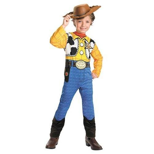 Costumes For All Occasions Dg5231L Toy Story Woody Std 4 To -