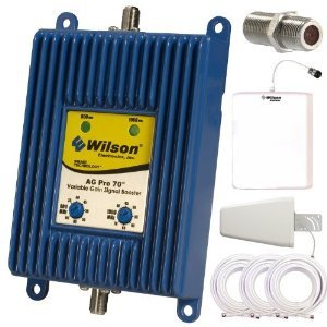 UPC 722301806883, Wilson AG Pro 70 db Dual Band Cellular Signal Booster Omni directional Complete Kit with lightning surge protector