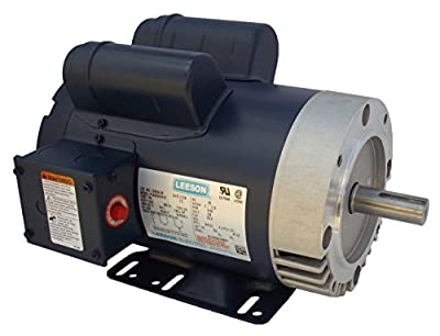 5 hp 3450 RPM 145TC 230V Woodworkers Dust Collector Electric Motor # 120554C