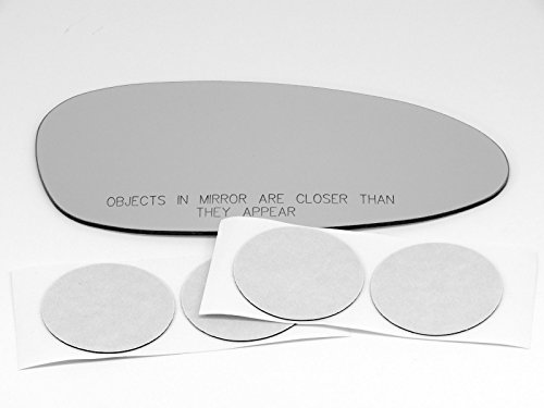 VAM Fits 05-09 Porsche 911 / Boxster 06-08 Cayman Right Passenger Convex Mirror Glass Lens w/Adhesive USA Fits Models Without Auto dimming