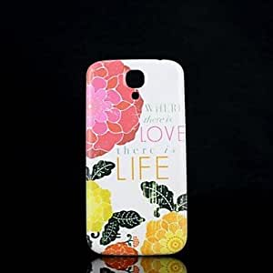 SHOUJIKE Samsung S4 I9500 compatible Graphic/Special Design Plastic Back Cover