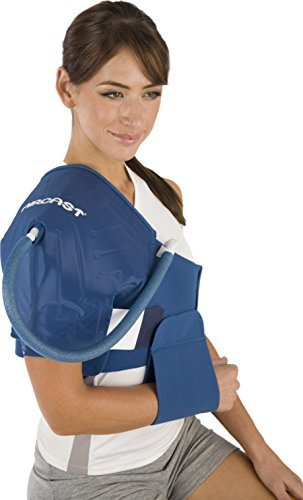 Aircast Cryo/Cuff Cold Therapy: Shoulder Cryo/Cuff with Non-Motorized (Gravity-Fed) Cooler