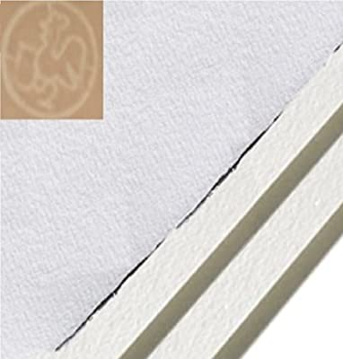 """Hahnemuhle Copperplate Paper, 22"""" X 30"""", 300 gsm, Warm White (25 Sheet Package)"""