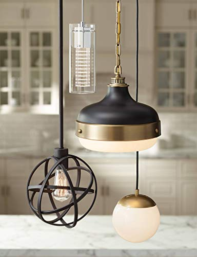 Industrial Atom 8'' Wide LED Edison Bulb Mini-Pendant Light - Franklin Iron Works by Franklin Iron Works (Image #2)