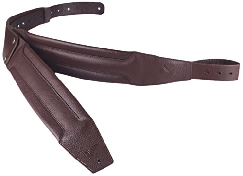 Gruv Gear DuoStrap Signature Ergonomic Double Strap for Bass or Guitar, Chocolate (Ergonomic Guitar Strap)