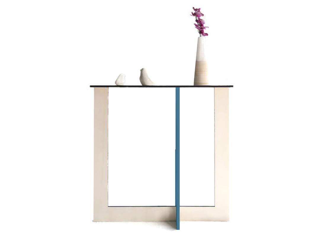 Sehr schmaler konsolentisch holz f/ür die FIbonacci-Serie und Goldenen Schnitt in vielen farben Konsolentische moderne Designer tisch extra schmal Moderner konsole wohnzimmer design flur kurz