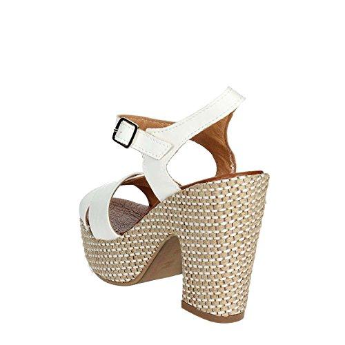 Sandale Pz6574 Blanc Pregunta Femme f002 wTEqFY