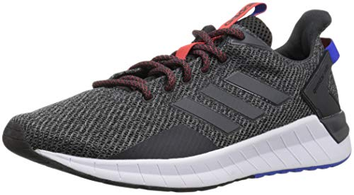 (adidas Men's Questar Ride Running Shoe Carbon/Black, 11.5 M US)