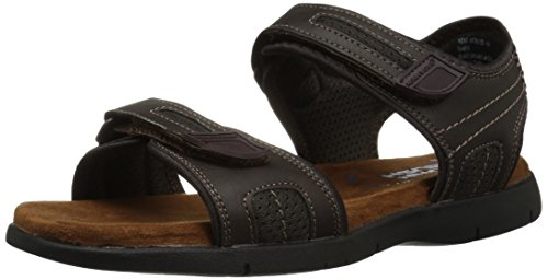 Nunn Bush Mens Rio Grande Due Strap Sandalo Marrone