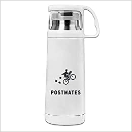 CHTANG7 Postmate With Bicycle Vacuum Thermos Bottle 350ML