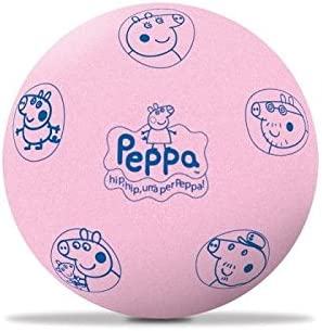 takestop Pelota Balón Esponja Peppa Pig Lavable Rimbalza Juegos 20 ...