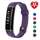 Letsfit Fitness Tracker with Heart Rate Monitor, Pedometer Watch, Waterproof Smart Watch Activity Tracker with Step Counter, Sleep Monitor, Step Tracker for Kids Women