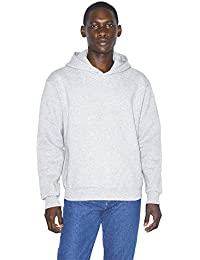 American Apparel Men's Mason Fleece Long Sleeve Pullover Hoodie