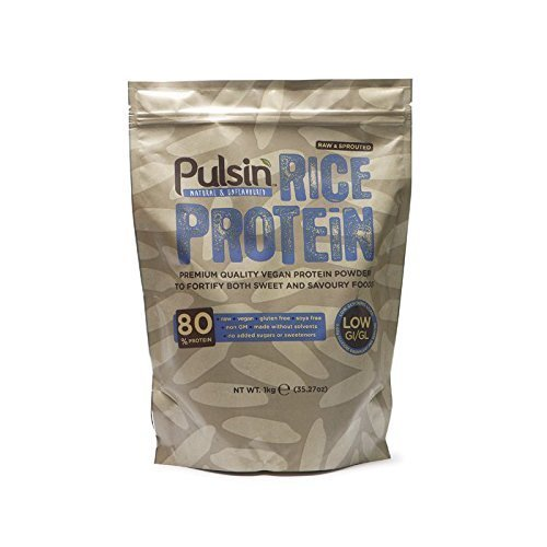 Pulsin 1Kg Brown Rice Protein Powder by Pulsin Ltd by Pulsin'