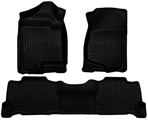 Husky Liners Front & 2nd Seat Floor Liners Fits 07-14 (Carpeted Floor Liners)