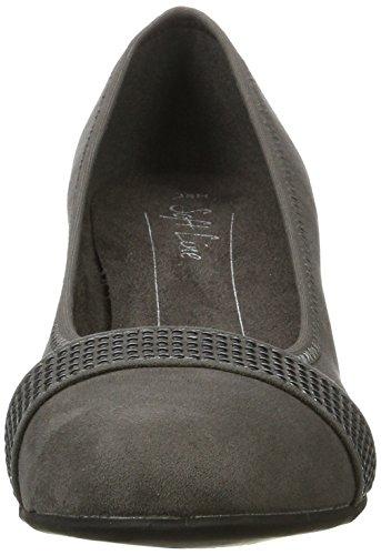 Softline 22474, Zapatos de Tacón para Mujer Gris (Graphite)