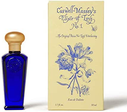 Caswell-Massey Eau De Toilette Perfume - Elixir of Love No. 1 Scented Cologne Spray For Women - 1.7 Ounces