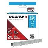 Arrow Fastener 504IP 1/4-Inch Genuine T50 Staples, 5,000-Pack