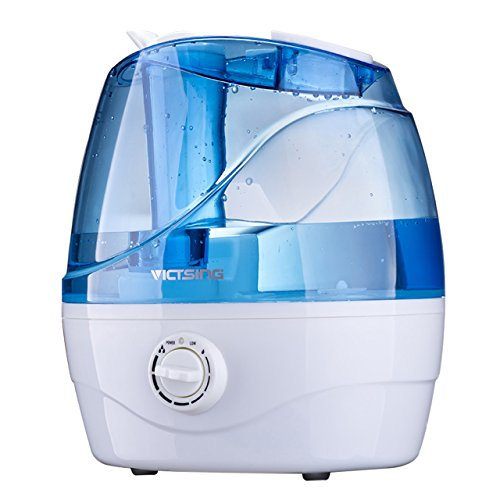 Why Choose VicTsing Cool Mist Humidifier, Ultrasonic Humidifiers for Bedroom Baby, Premium Humidifying Unit with Whisper-Quiet Operation, Auto Shut-Off, Anti-Slip Handle, 12-24 Hours Working Time