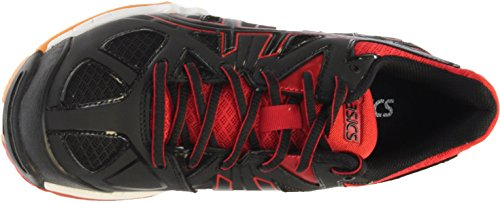 ASICS Women's Gel Tactic Volleyball Shoe, Black/Black/Fiery Red, 8.5 M US by ASICS (Image #5)