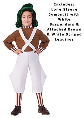 Rubie's Costume Kids Willy Wonka & The Chocolate Factory Oompa Loompa Value Costume, Small - http://coolthings.us