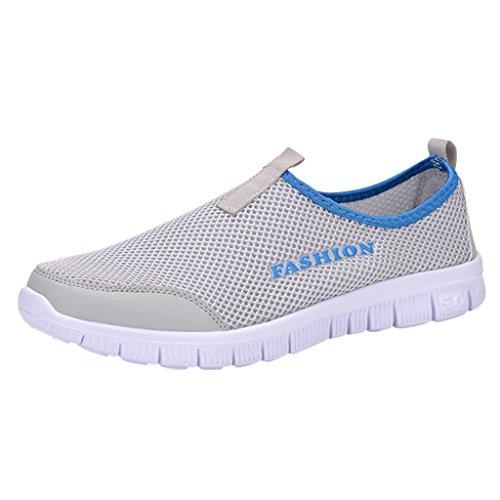 Hee Grand Men's Outdoor Casual Sports Sneaker Shoes US 7 LightGrey