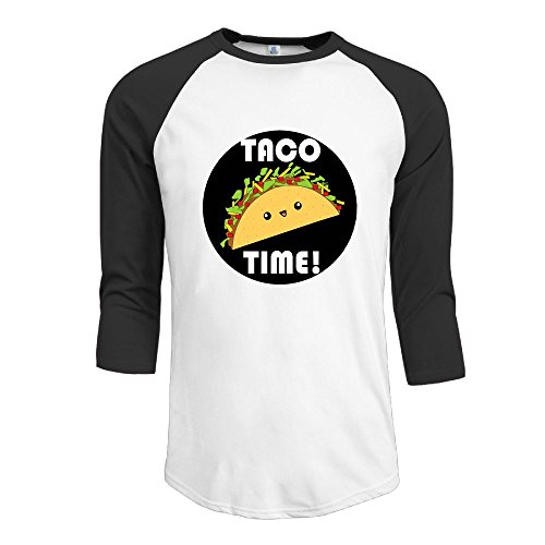 MarskTOTO TACO TIME Men Simplicity Raglan XL - Hut Village Menu