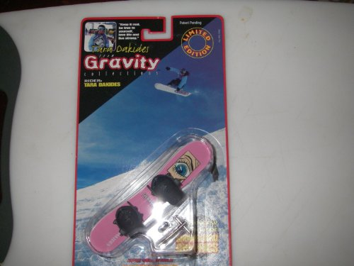 Team Gravity Finger Snowboard - Girl Rider