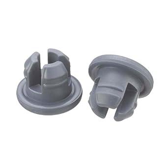 Wheaton W224100-202 Rubber 20mm Stopper with 3-Leg Lyophilization, Gray Chlorobutyl/46 (Case of 1000)