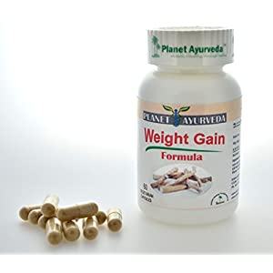 Gain Weight Pills (60 TABLETS) GAIN WEIGHT FAST Weight Gain Plus Increase Appetite Enhancer / Appetite stimulant Weight Gain Herbal Supplement. Safe Weight Gainer Pills For Men & Women.