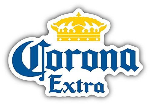 Corona Extra Mexican Beer Car Bumper Sticker Decal Highest Quality From Boston Decal Works (5
