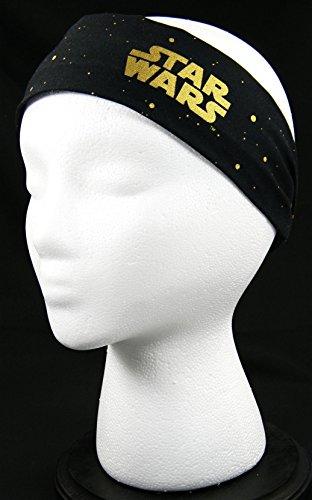 --LIMITED STOCK-- Star Wars Metallic Gold headwrap/headband (Handmade in the United States)