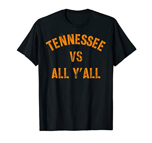 Tennessee Football VS All Yall T-shirt Knoxville T-Shirt