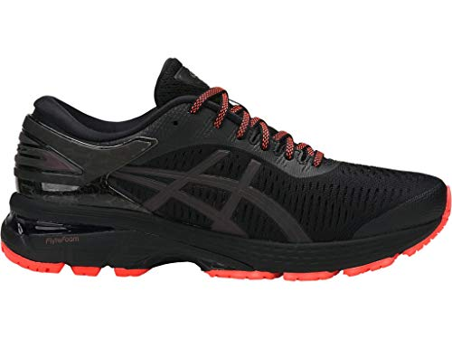 Gel Womens Asics Kayano - ASICS Women's Gel-Kayano 25 Lite-Show Running Shoes, 8.5M, Black/Black